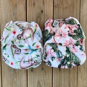 Mme & Co All in One Cloth Diapers - One Size